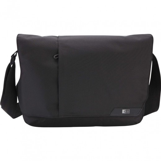 Case Logic Messenger for 14.1 inch Laptop/iPad Black MLM114K