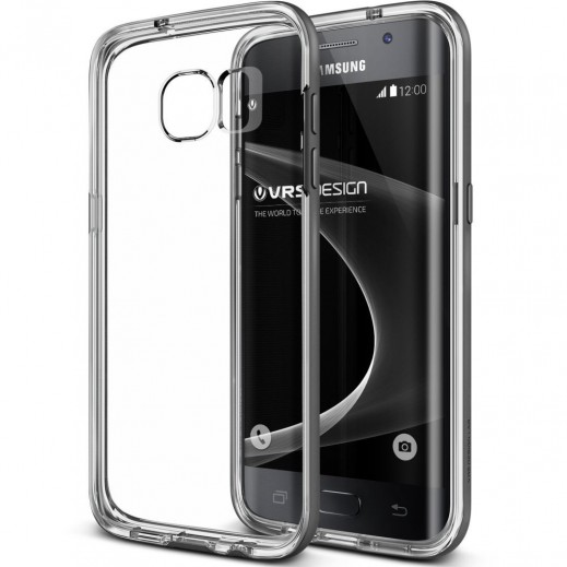 Verus Crystal Bumper For Galaxy S7 Steel silver