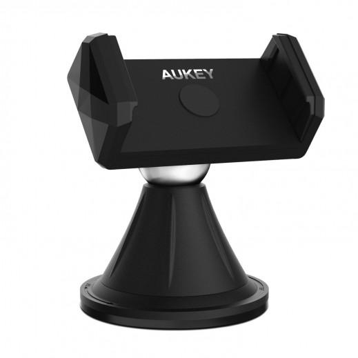 Aukey Windshield Dashboard Phone Mount- Black