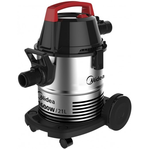 Midea 1600W Vacuum Cleaner 21L - Silver - delivered by  AL-YOUSIFI after 3 Working Days
