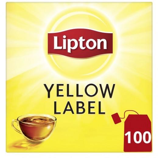 Lipton Yellow Label Black Tea 100 Tea Bags