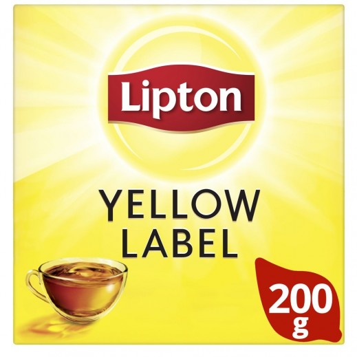 Lipton Yellow Label Black Loose Tea 200 g