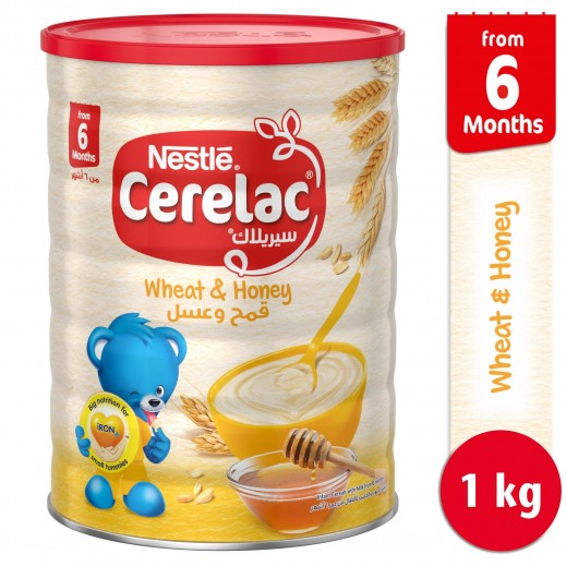 Cerelac Stage 2 Honey & Wheat 1 kg (From 6 Months)