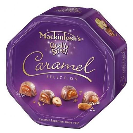 Mackintoshs Quality Street Caramel Selection Chocolate 325g