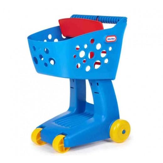 Little Tikes Nesting Shopping Cart - Blue