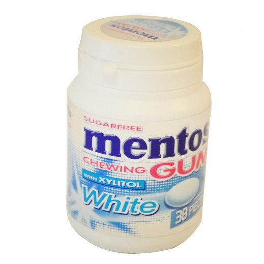 Mentos Sweet Mint White Chewing Gum 54 g