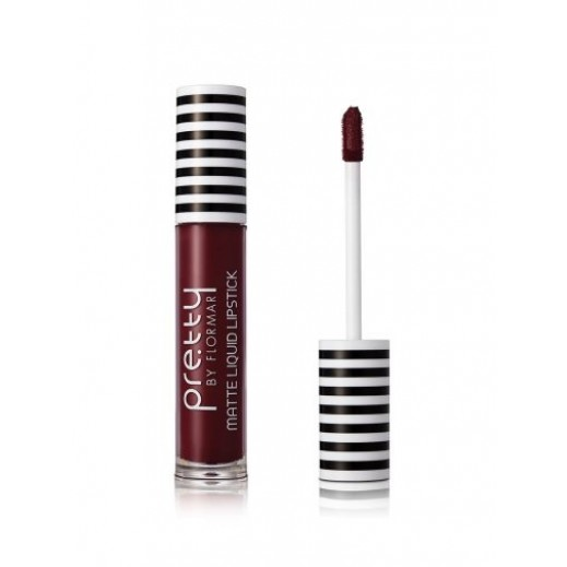 Pretty By Flormar Matte Liquid Lipstick Deep Amaranth 012