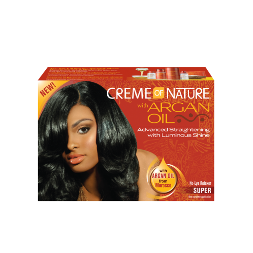 Creme Of Nature With Argan Oil Relaxer Super Kit