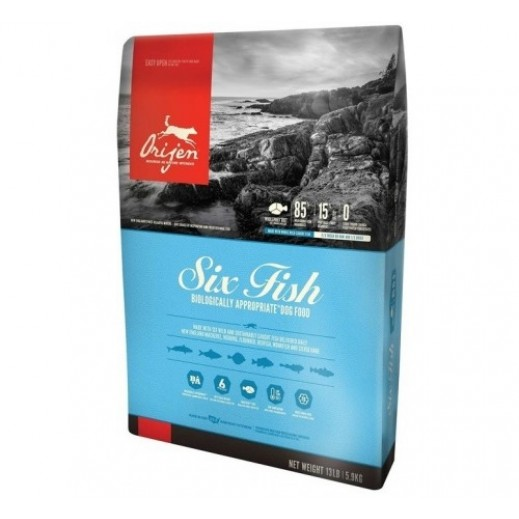 Orijen Six Fish Dog Food 2 kg