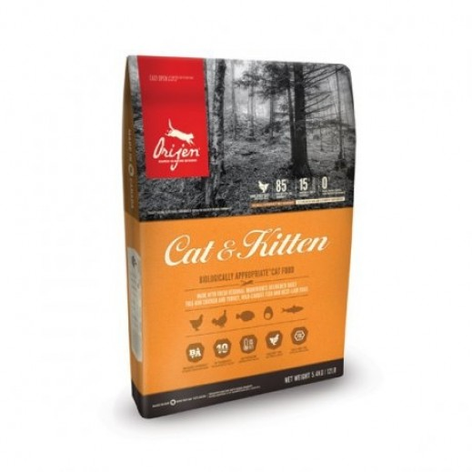 Orijen Cat And Kitten Food 5.4 kg
