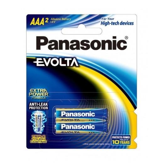 Panasonic Evolta Alkaline Battery 1.5 v AAA Size (2PCS)