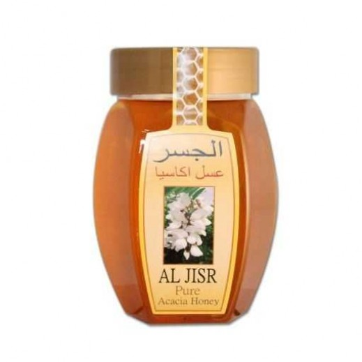 Al Jisr Pure Acacia Bee Honey 500 Gms