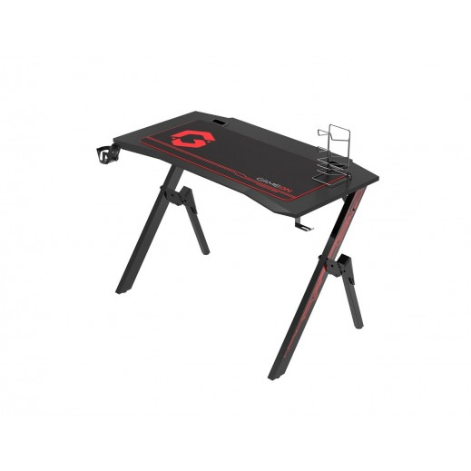 Gameon NGC-A Gaming Desk - Black/Red