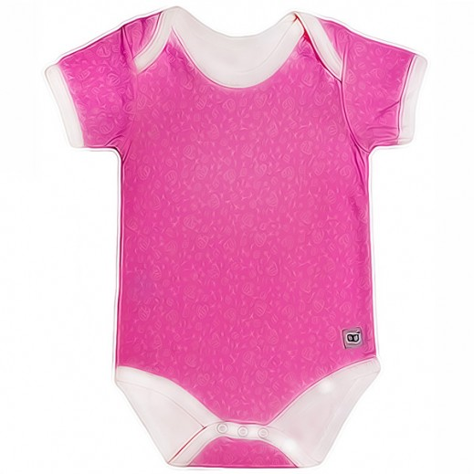 Babyglow Girls Body Suit Pink (3 - 6 Months)