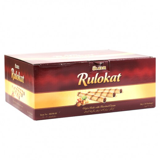Ulker Rulokat Wafer Chocolate 24 g (24 Pieces)