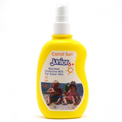 Carrot Sun Junior 6+ Tanning Cream Maximum Protective Milk (SPF100+) 200 ml