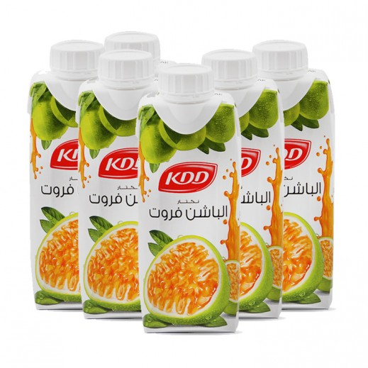 KDD Passion Fruit Juice 6 x 250 ml