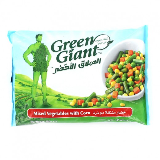 Green Giant Frozen Mixed Vegetables With Corn 450 g