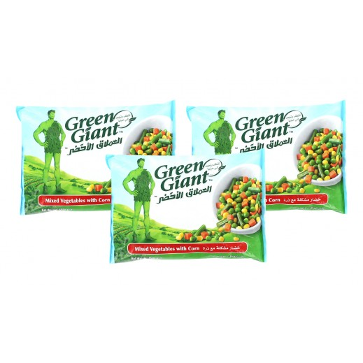 Value Pack - Green Giant Frozen Mixed Vegetables With Corn 450 g (3 Pcs)