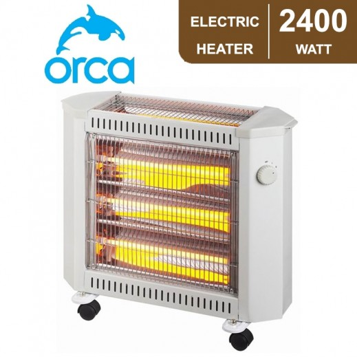 Orca Quartz Heater 2,400 w - White