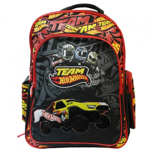 Hot Wheels Backpack School Bag