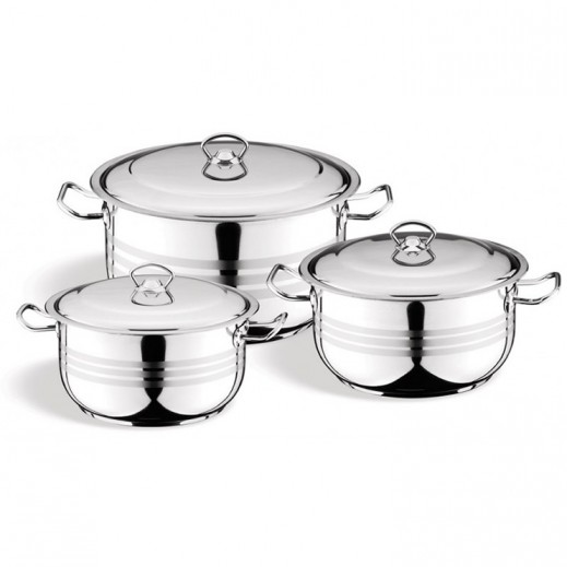 Berlin Asiret Cookware Set - 6 Pieces