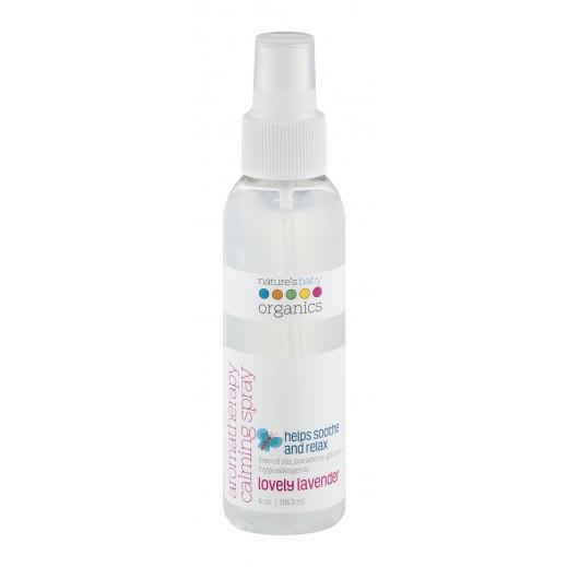Nature's Baby Organics Lovely Lavender Aromatherapy Calming Spray 118.3 ml