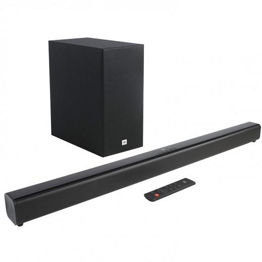 JBL Cinema 2.1 Channel Soundbar with Wireless Subwoofer 220W - Black