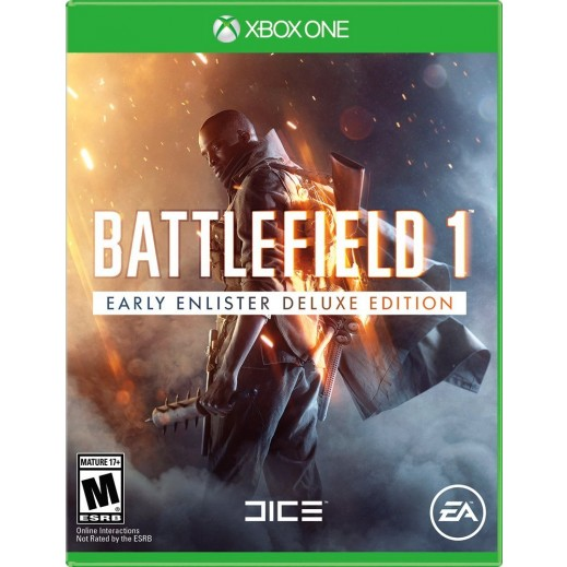 Battlefield 1 Early Enlister Deluxe Edition for Xbox One - NTSC