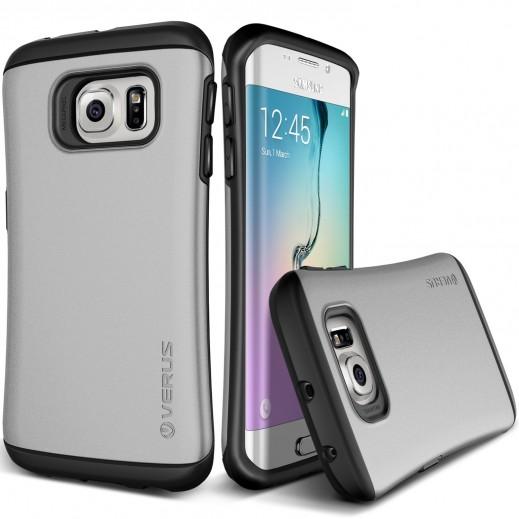 Verus Hard Drop Case For Samsung Galaxy S6 Edge Steel Silver