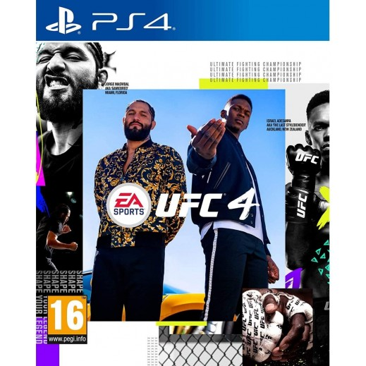 EA SPORTS UFC 4 for PS4 – PAL