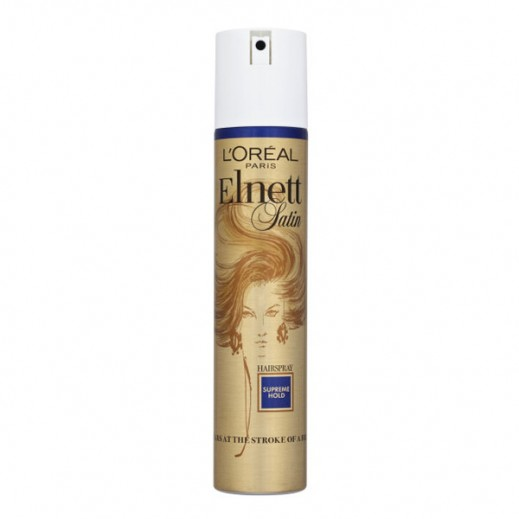 L'Oreal Elnett Satin Supreme Hold Hair Spray 200 ml