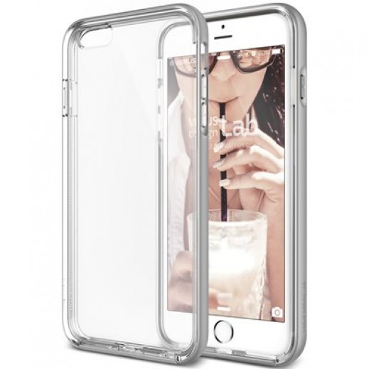 Verus New Crystal Bumper For iPhone 6/6S Light silver