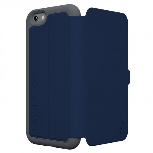 Colorant C3 Folio case For iphone 6 - Navy