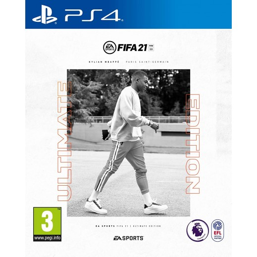 FIFA 21 Ultimate Edition for PS4 – PAL (Arabic)