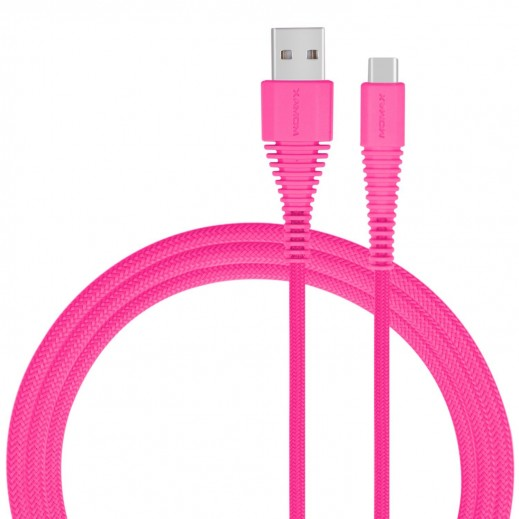 MoMax USB Type-C Cable 1.2M - Pink