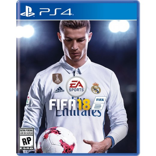 FIFA 18 for PS4 - NTSC
