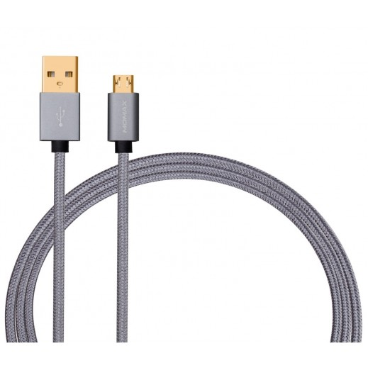 MoMax Mirco USB Cable 2M - Grey