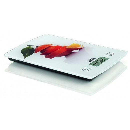 Laica Kitchen Scale Touch Sensor White/Orange