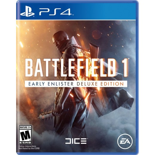 Battlefield 1 Early Enlister Deluxe Edition for PS4 - NTSC