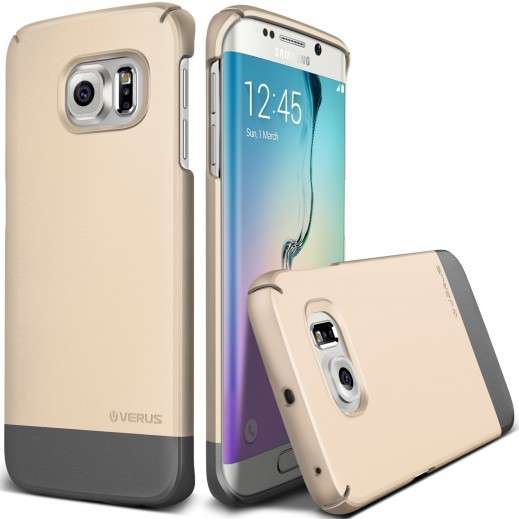 Verus 2 Link Case for Samsung Galaxy S6 Edge Gold