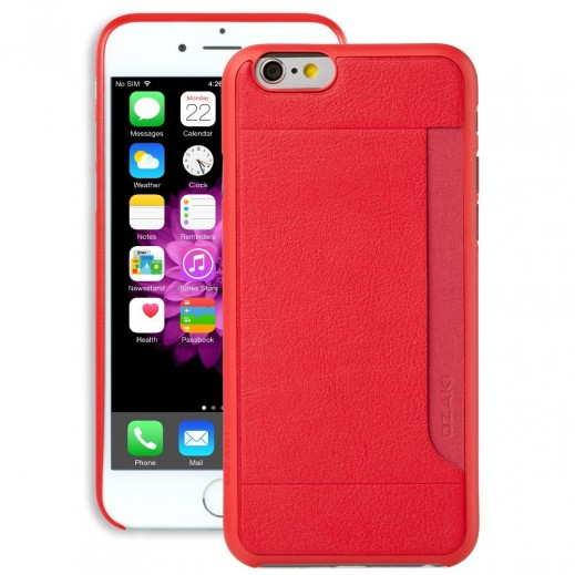 Ozaki Ultra Slim & Light Case For Iphone 6 Red