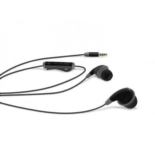 SBS Stereo Jack In-Ear Spot Earset Black