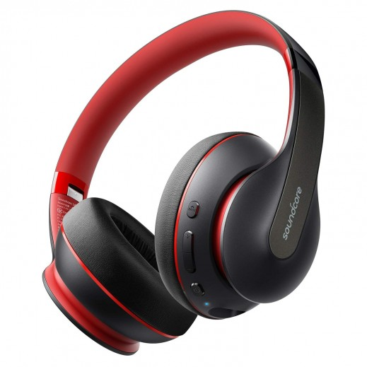 Anker SoundCore Life Q10 Bluetooth Headphones - Red