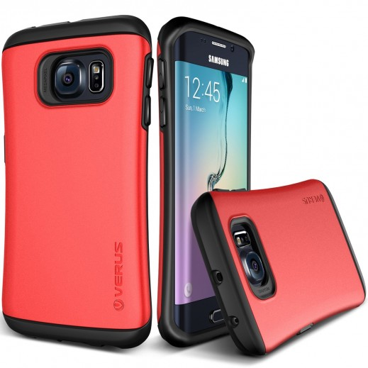 Verus Hard Drop Case For Samsung Galaxy S6 Edge Red
