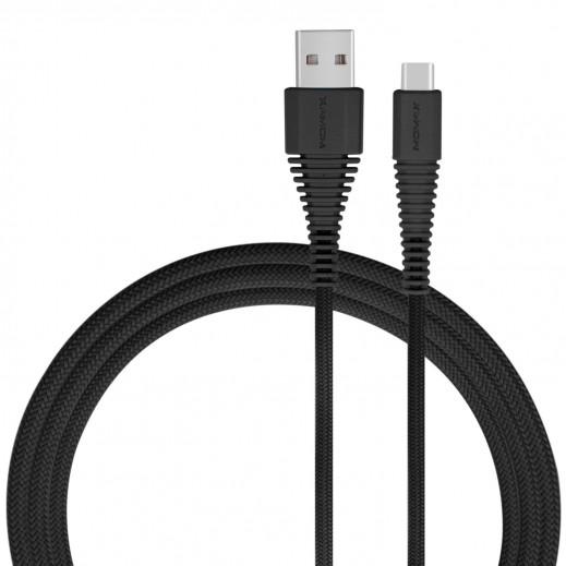 MoMax USB Type-C Cable 1.2M - Black
