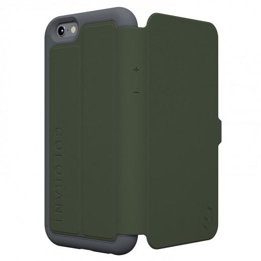 Colorant C3 Folio case For iphone 6 - Green