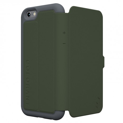 Colorant C3 Folio Case For Iphone 6 Plus - Green