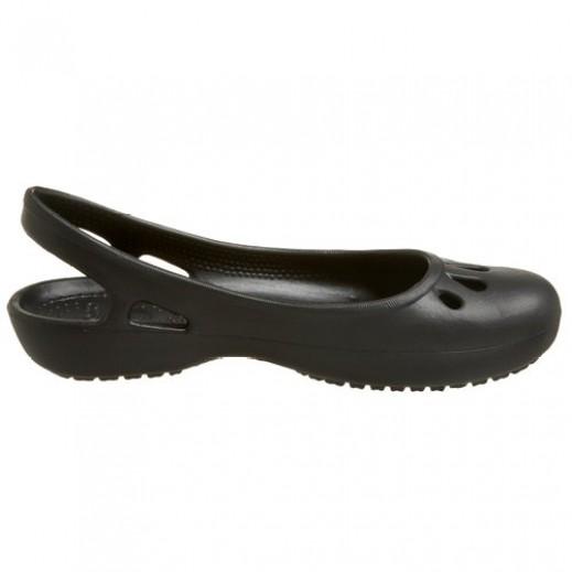 Crocs Thea Flat Black Women EU Size 34.5