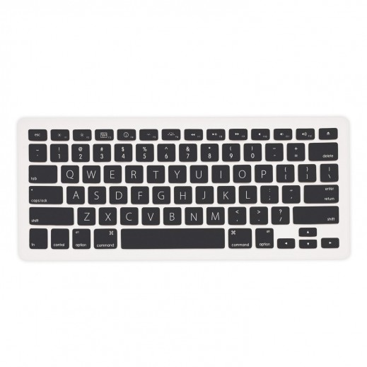 iLuv Silicon keyboard cover for Mac Book - Black